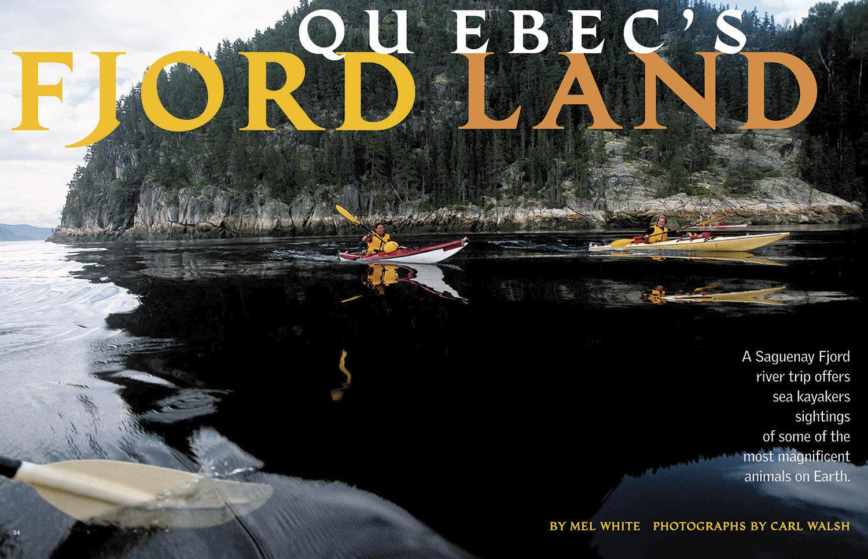 Quebec's Fjordland